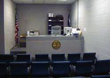 Courtroom at Detention Center